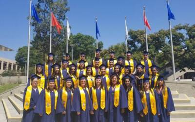 Big thanks to Cal State Fullerton HEP Program who work hard to help these migrant students pass their GED and graduate