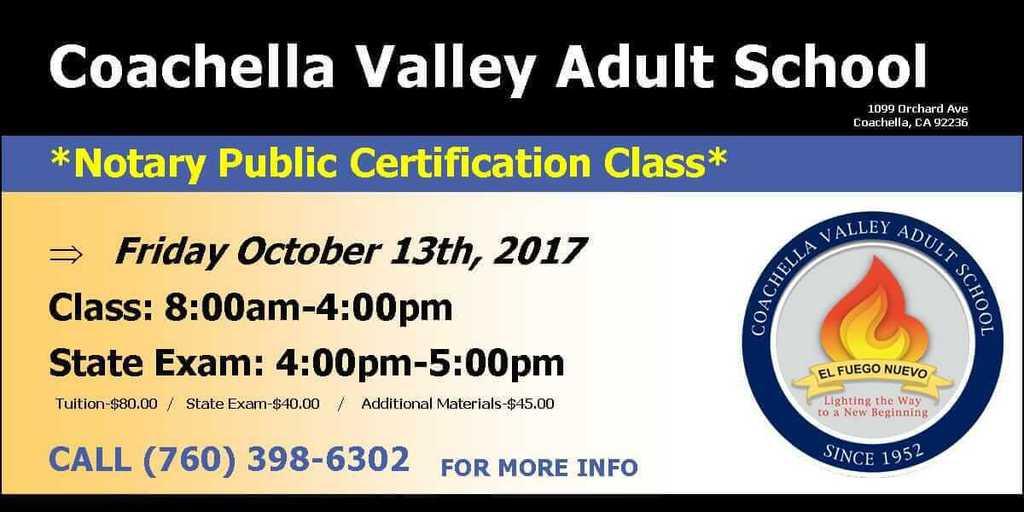 Notary Public Certification Class