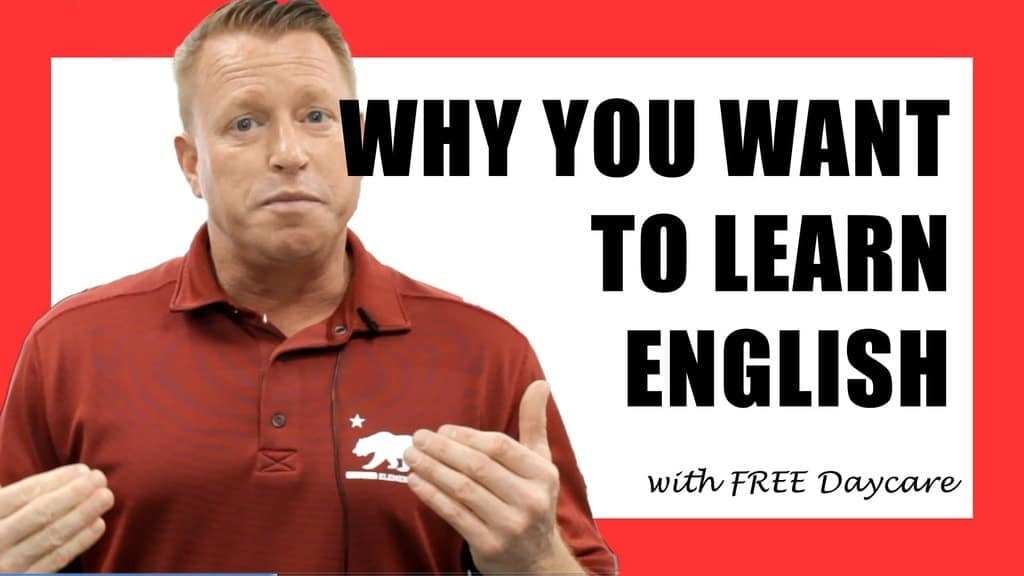 Why do you want to learn English?